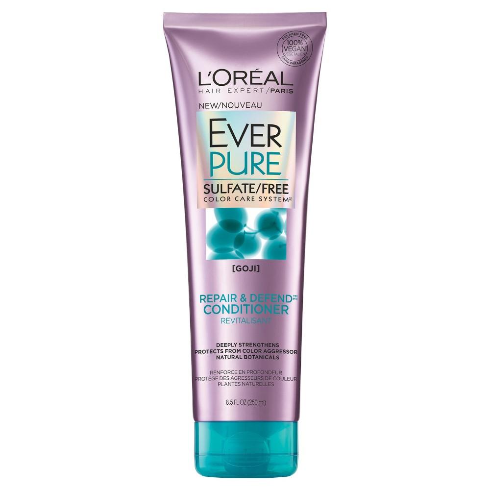 L Oreal Paris Everpure Sulfate Free Repair And Defend Conditioner 8 5 Fl Oz Shampoo Free Loreal Sulfate Free Shampoo
