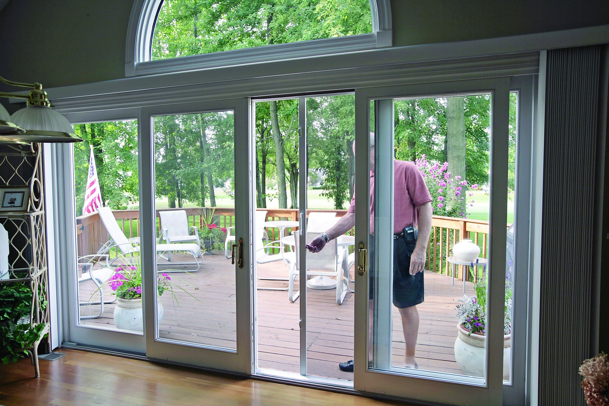 French Patio Door Retractable Screen