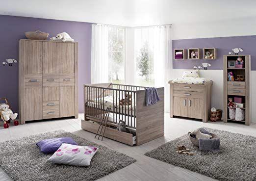 Olek 7tlg Babyzimmer Kinderzimmer Schrank Wickelkommode