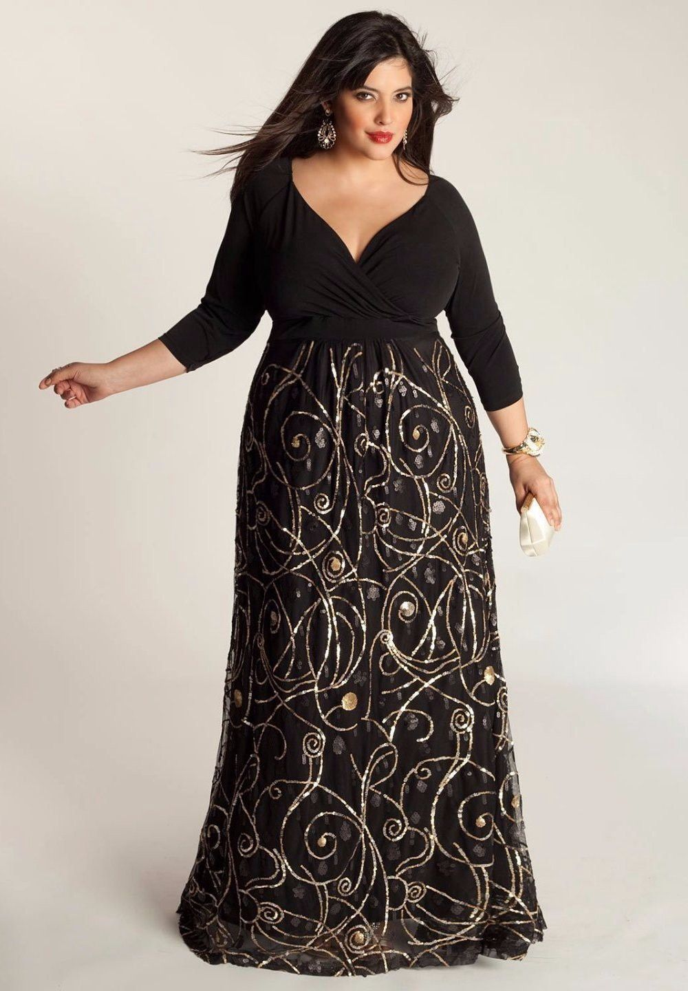 Igigi kandinsky gown madetoorder black products in