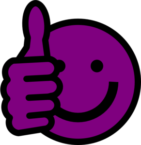 purple smiley face use these free images for your websites art rh pinterest com Money Smiley Face Clip Art Smiley-Face Emotions Clip Art