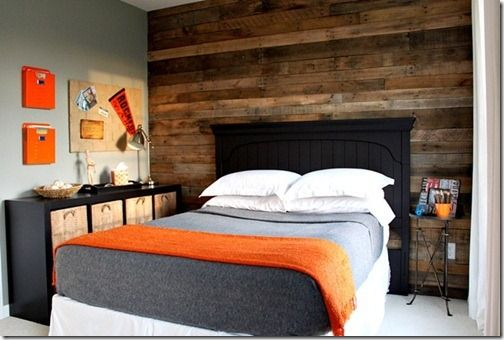 I want a wood wall. & so I will have it.