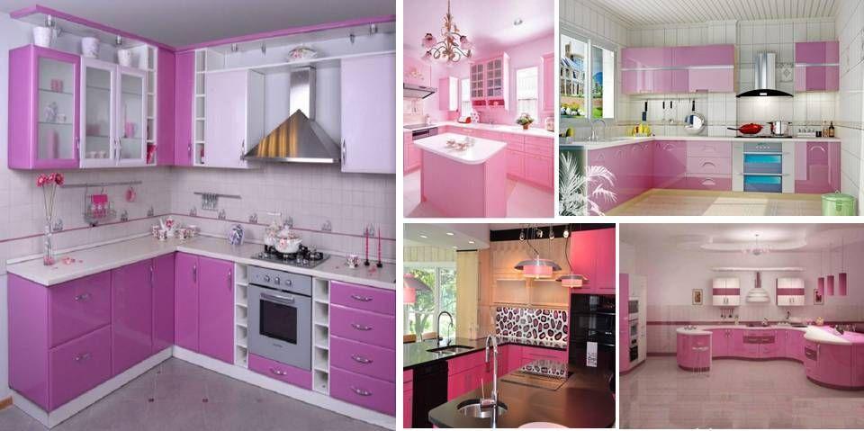 Pink Kitchen That Will Amaze All Ladies | Pink kitchen ...