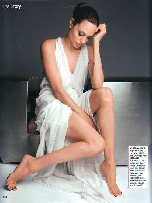 sexy Foto von Angelina Jolie