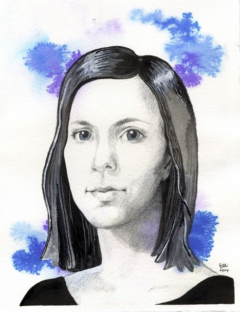 Blueness portrait by Elli Maanpää 2014