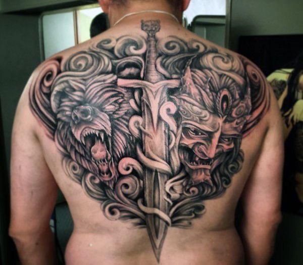 50 Sword Tattoos For Men A Sharp Sense Of Sophistication Brutal