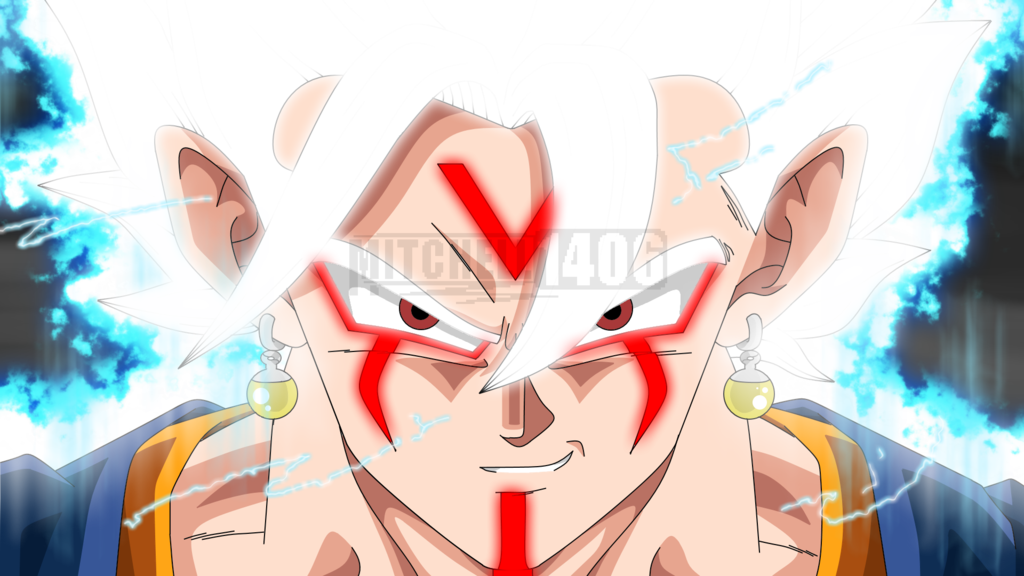 Vegito White Omni Vegito By Mitchell1406 Anime Dragon Ball Super Dragon Ball Super Wallpapers Anime Dragon Ball