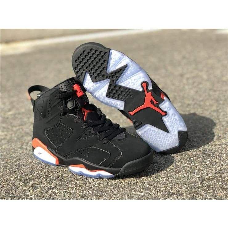 online store 28fe7 11582 Jordan Retro 6 Black Infrared 19 384664-060
