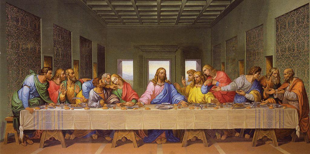 Giacomo Raffaeli The Last Supper At Minoritenkirche Vienna