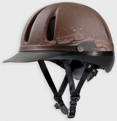 Troxel's classic Western Dakota helmet is now available in a new Mojave graphic! Click 'n Buy: Helmets from Horse & Rider