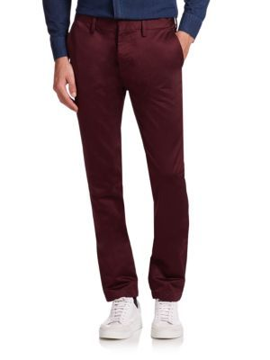 BURBERRY Elevated Cotton Chino Pants. #burberry #cloth #pants