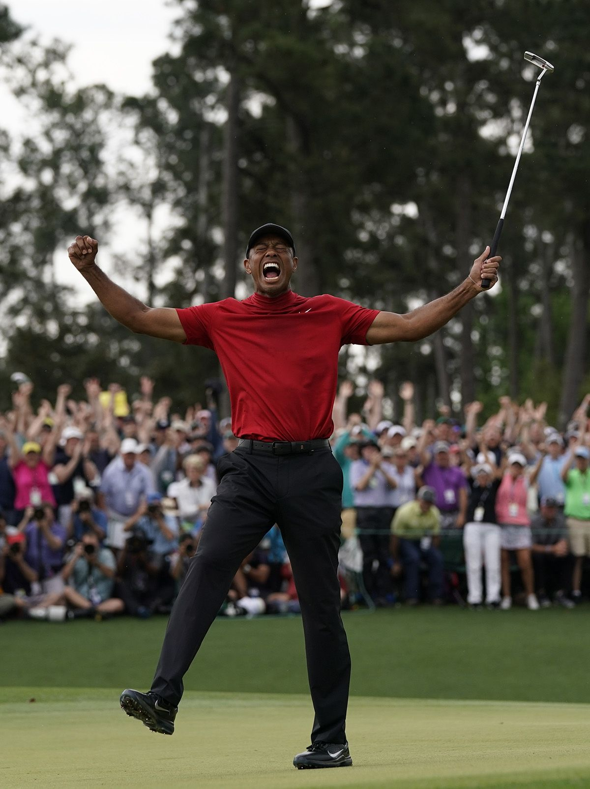 Photos Tiger S Celebrates 5th Masters Win 2019 2019 Masters