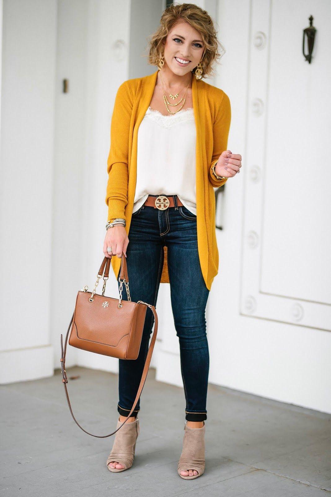 gama muy codiciada de atesorar como una mercancía rara mejor amado Under $30 Mustard Yellow Cardigan - Target Style ...