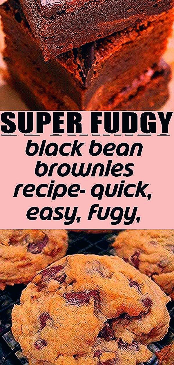 BLACK BEAN BROWNIES RECIPE- Quick easy fugy homemade with simple ingredients. Soft moist rich. Load