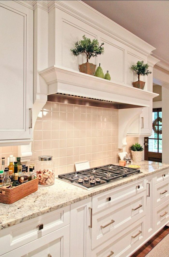 Comment choisir la crédence de cuisine idées en 50 photos shelf ideas kitchens and shelves