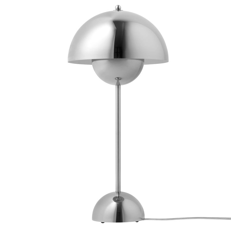 Tradition Flowerpot Vp3 Table Lamp Polished Stainless Steel Table Lamp Lamp Table Lamp Lighting