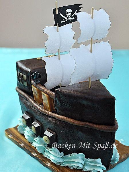 Piratenschiff Torte Rezeptideen Cake Birthday Und Cake Recipes