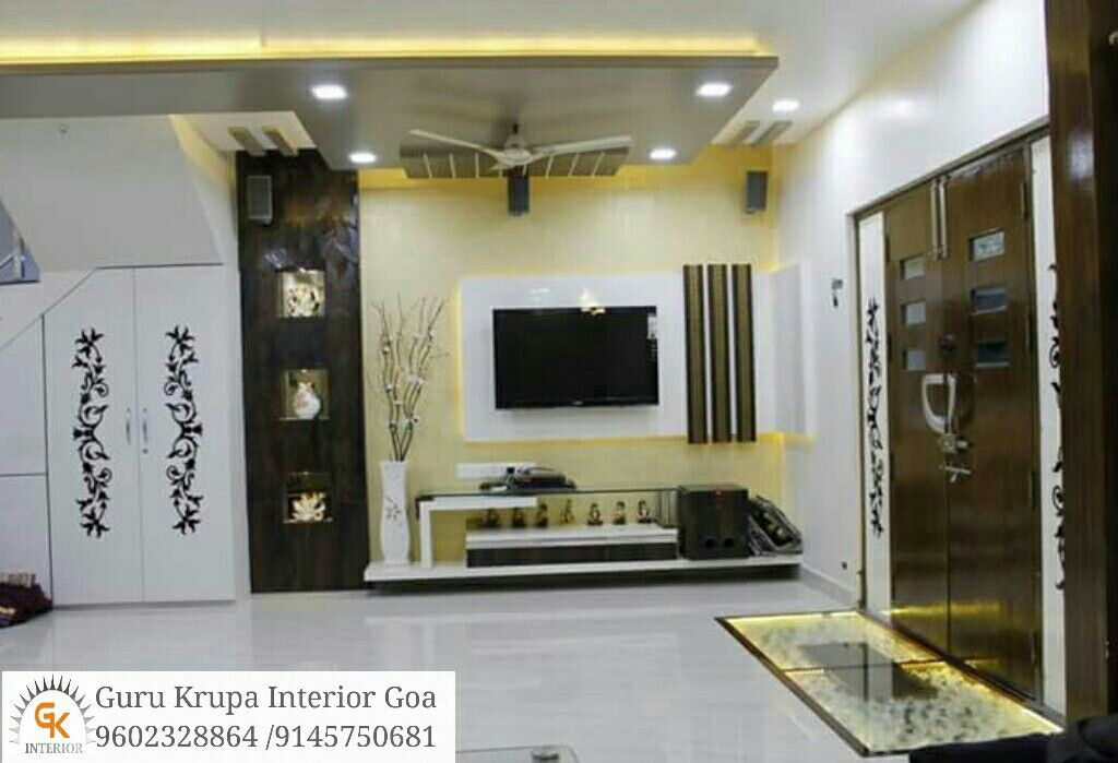 Pin By Disha Bharwada On Living Room Tv Wall Design Diy