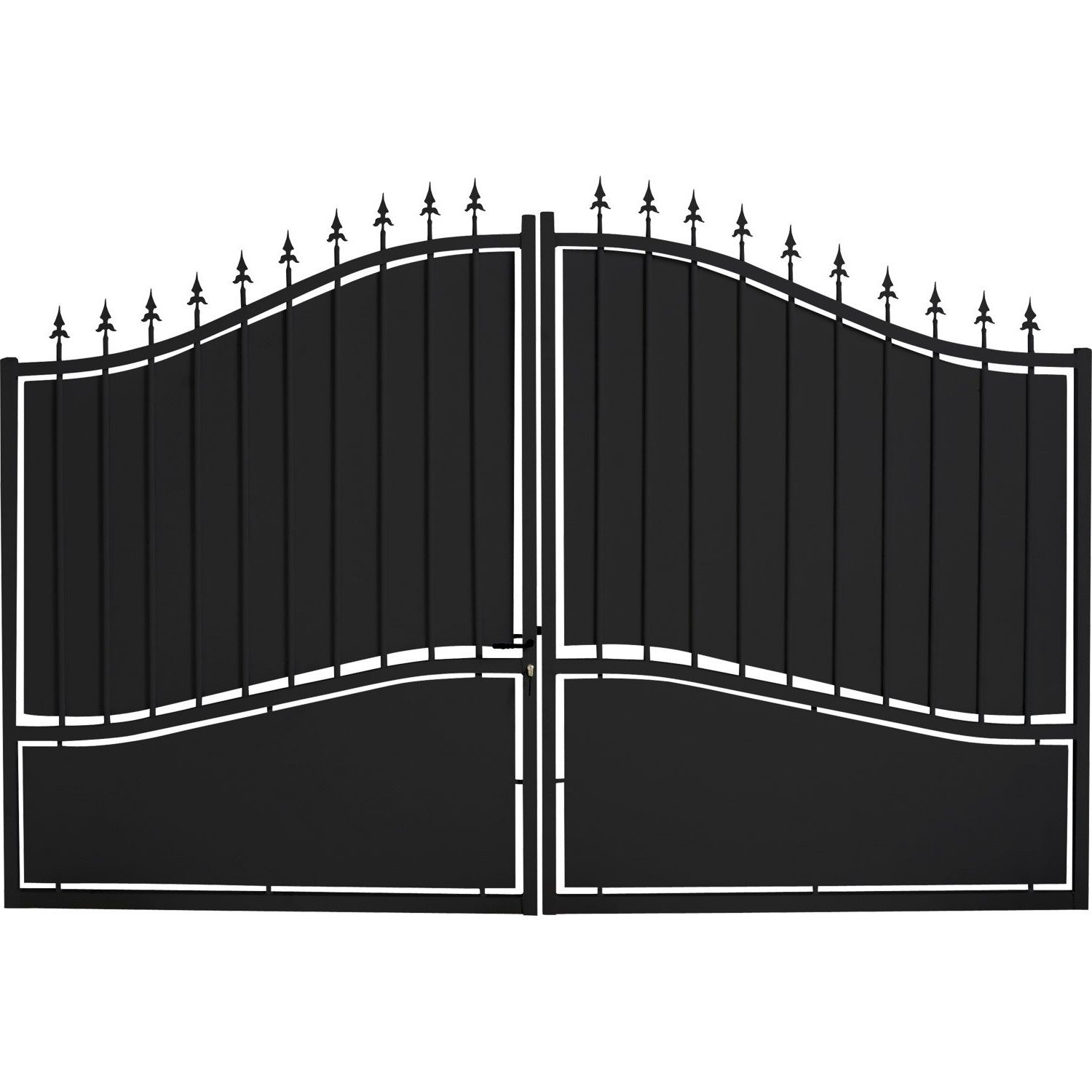 Portails Brico Depot Wrought Iron Driveway Gates Iron Gates Gate Design