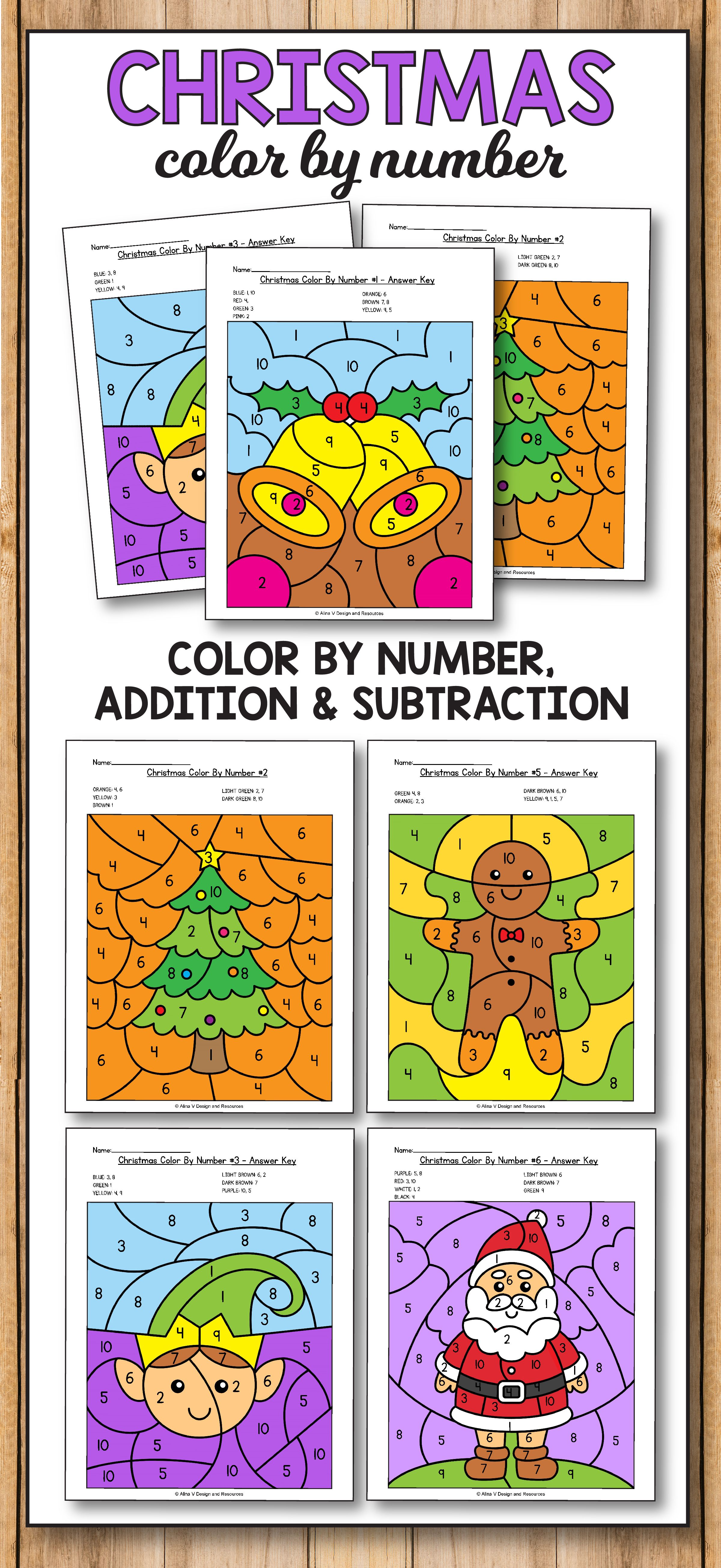 December Morning Work Kindergarten - Christmas Addition and ...
