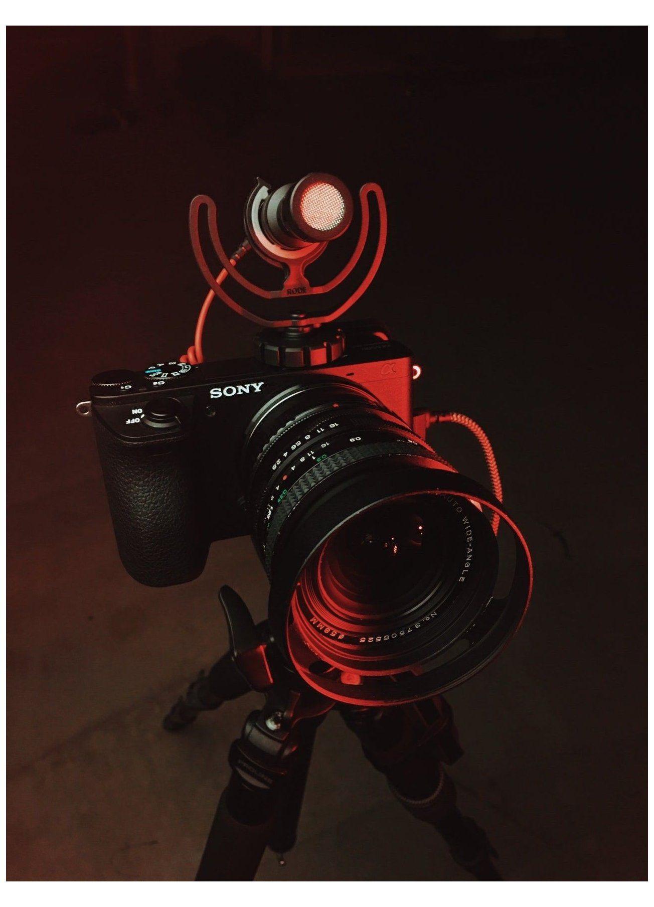 Red Camera aesthetic wallpaper iphone camera