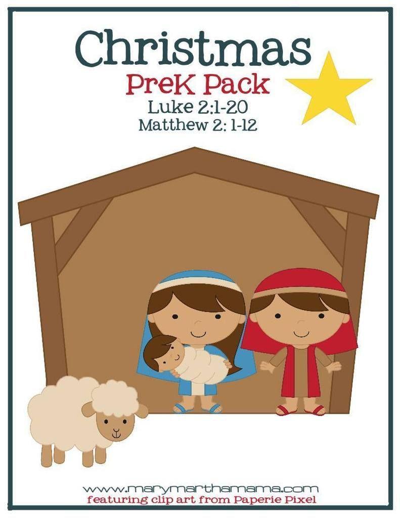 Free Christmas Nativity Preschool Pack | Navidad preescolar, Pesebre ...