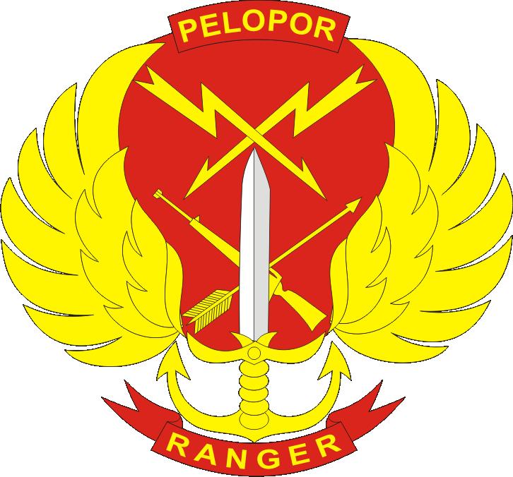 Ranger Resimen Pelopor Logo Okinawa Usmc Korps Marinir
