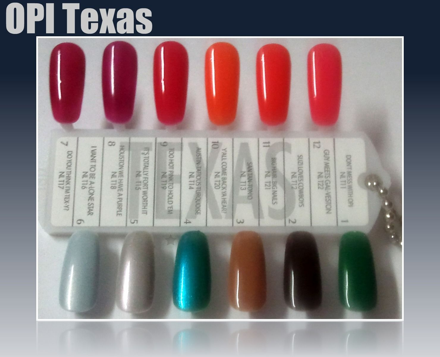 Body And Soul Opi Texas Nail Wheel Swatches Texas Nails Nails Nail Polish