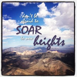 Don T Be Afraid To Soar To New Heights Wish You The Best Small Business Success Soar