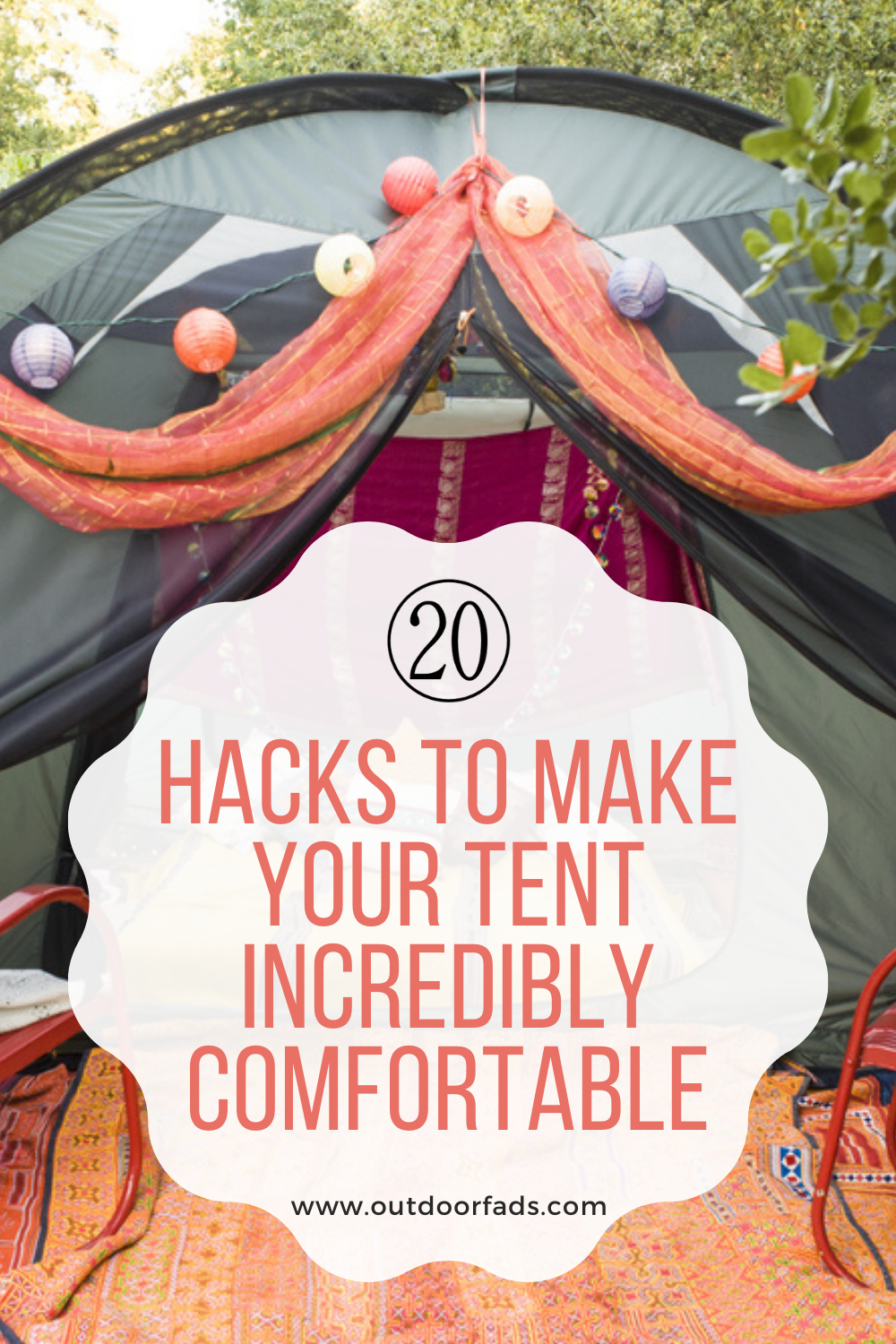 20 Camping Tent Hacks to Make Your Tent Incredibly ...