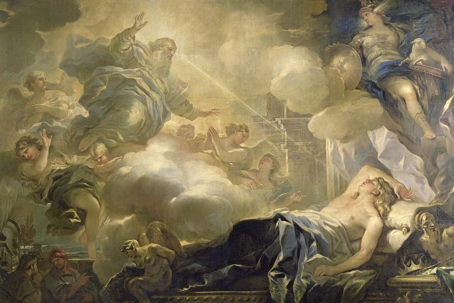 The Dream Of Solomon by Luca Giordano | King solomon, Art, Solomon