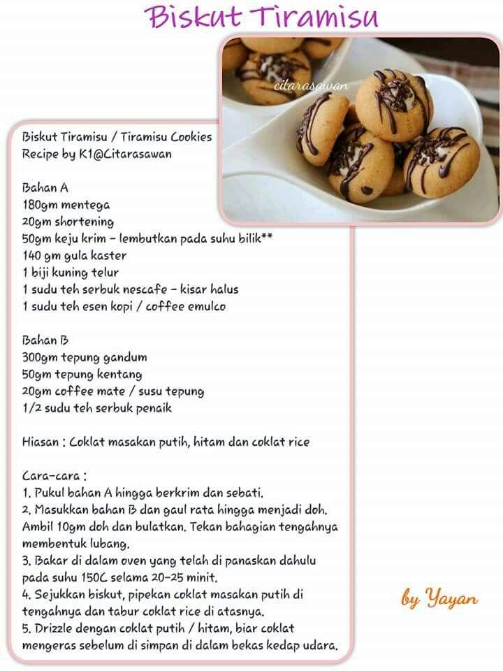 Pin Oleh Sum Mohd Di Biskut Resep Makanan Kue Kering Dan