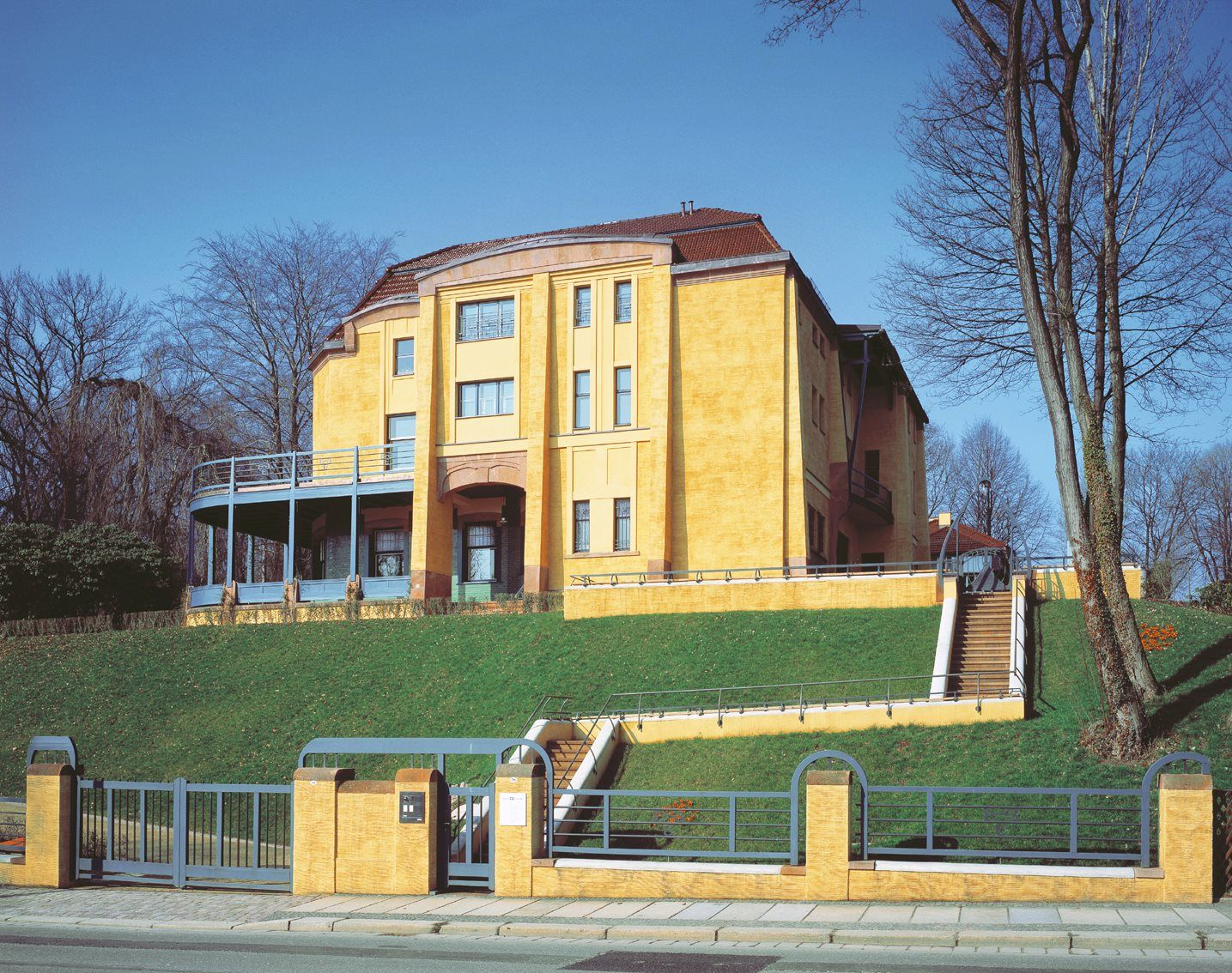 Henri van de velde private house in uccle brussels belgium