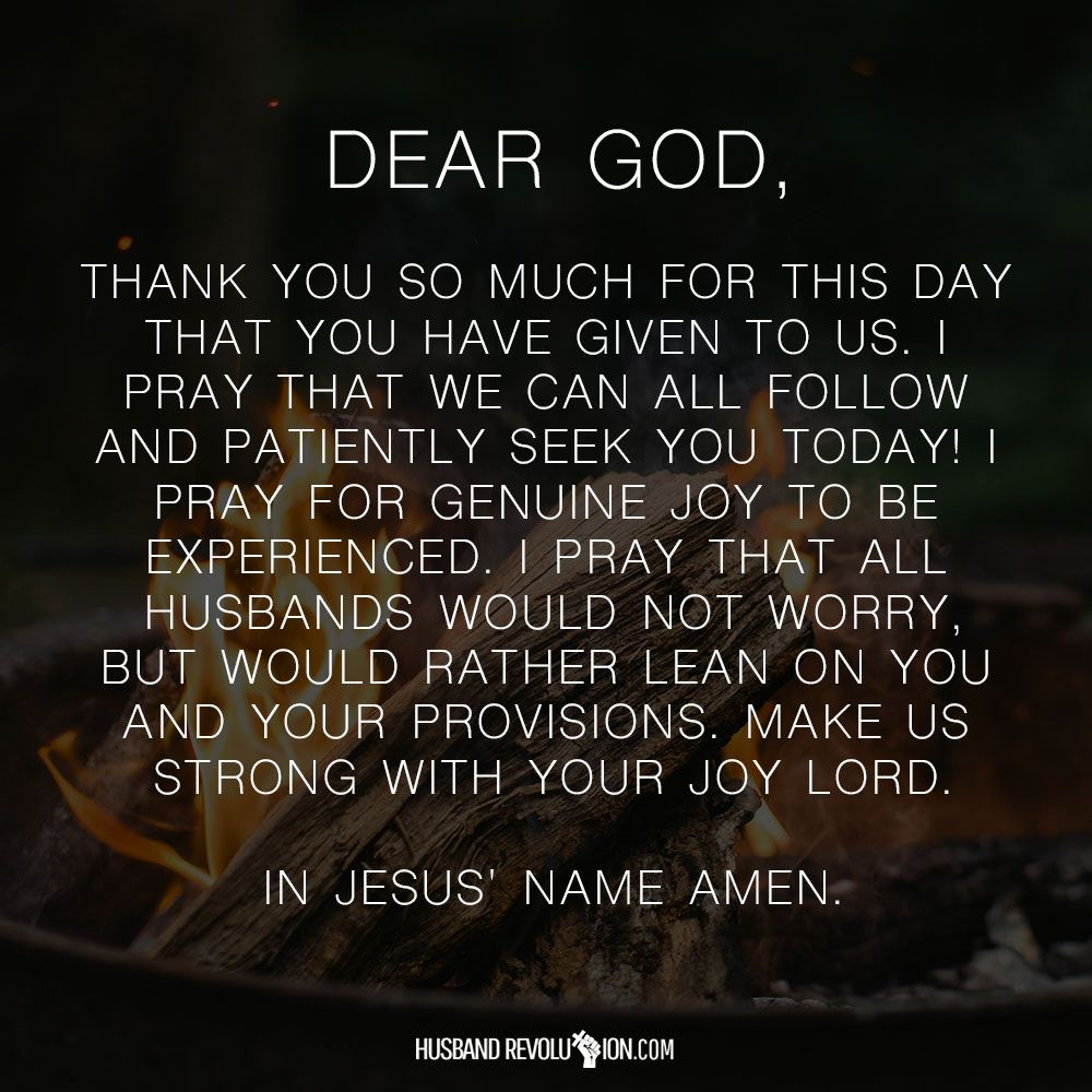 Prayer For Genuine Joy