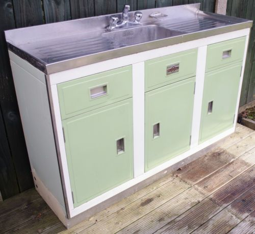 Paul Metal Craft Millersdale Kitchen Sink Unit 1950 60 S Kitchen Sink Units Sink Units Kitchen Sink