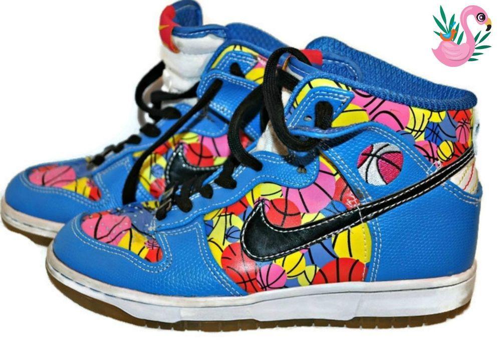 Doernbecker nike skinny dunk high makayla sneakers size 6
