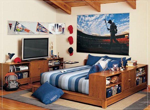25 Room Designs For Teenage Boys Boy Bedroom Design Boys Room