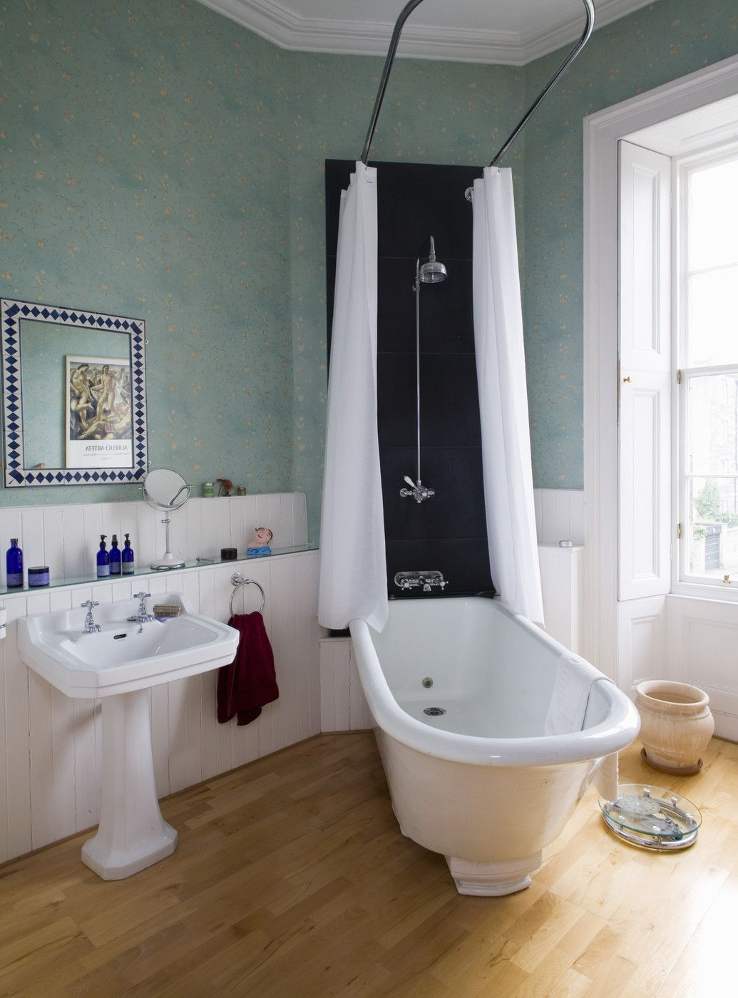 Shower Over Bath Photos   Pinterest   Traditional bathroom, Bath and ...