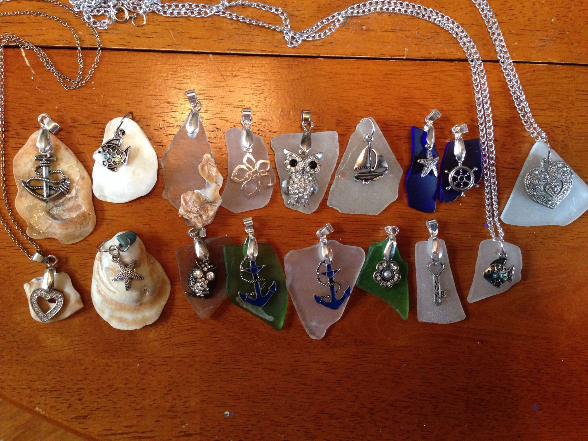 Pendants daughter and I made