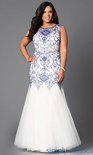 Plus Size Formal Prom Dresses, Evening Gowns | Hey Look! It\'s Plus ...