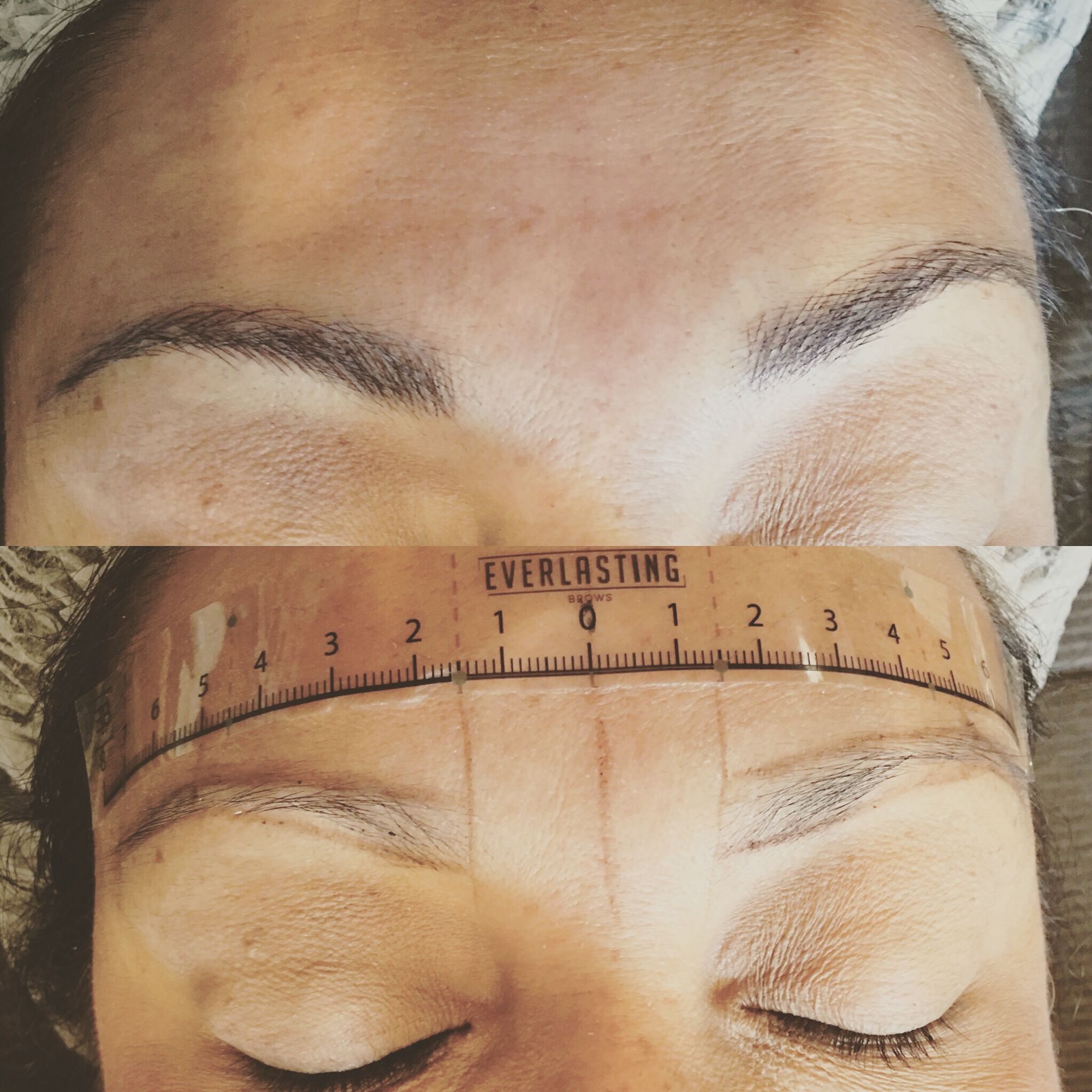 Before and after #microblading #18months#tattoo#brows ...