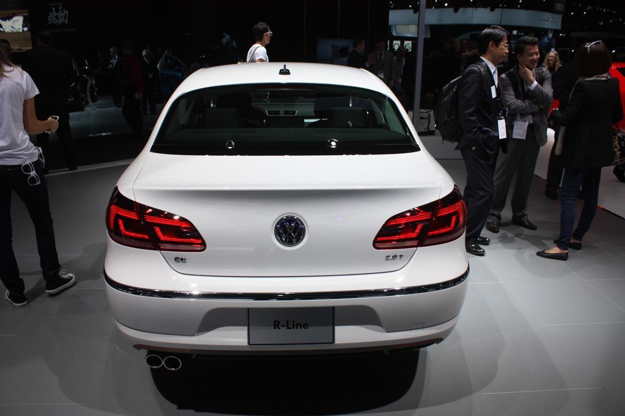 Более обычный Volkswagen CC RLine Volkswagen cc