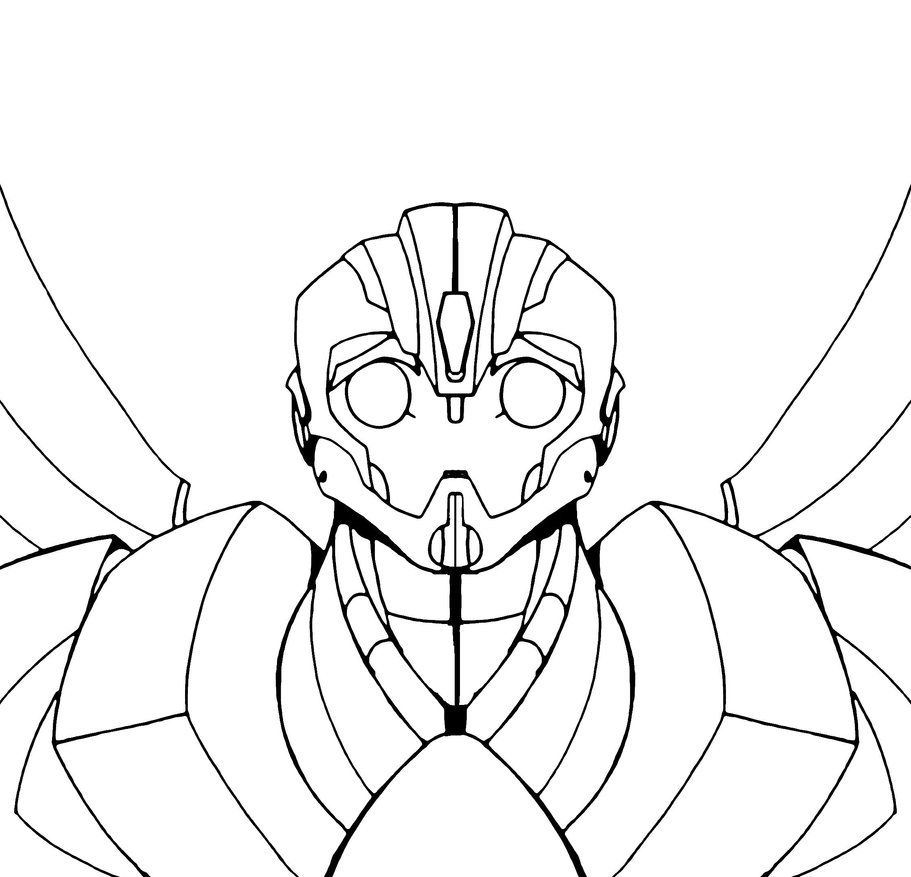 Best Photos of Bumble Bee Transformer Coloring Pages