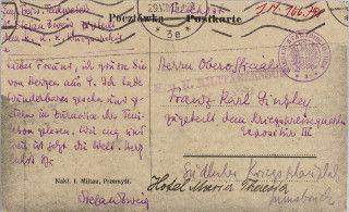 Objekt Des Monats August14 Stefan Zweig Karten Wien