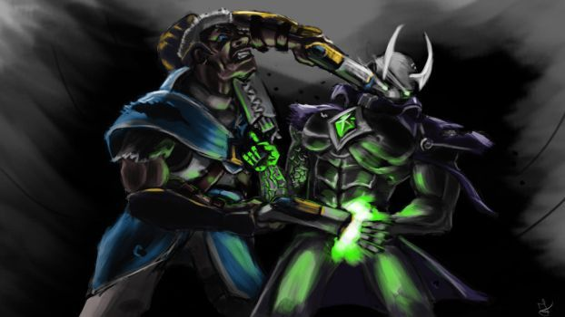 Image Result For Androxus Fan Art Overwatchpaladins Paladin
