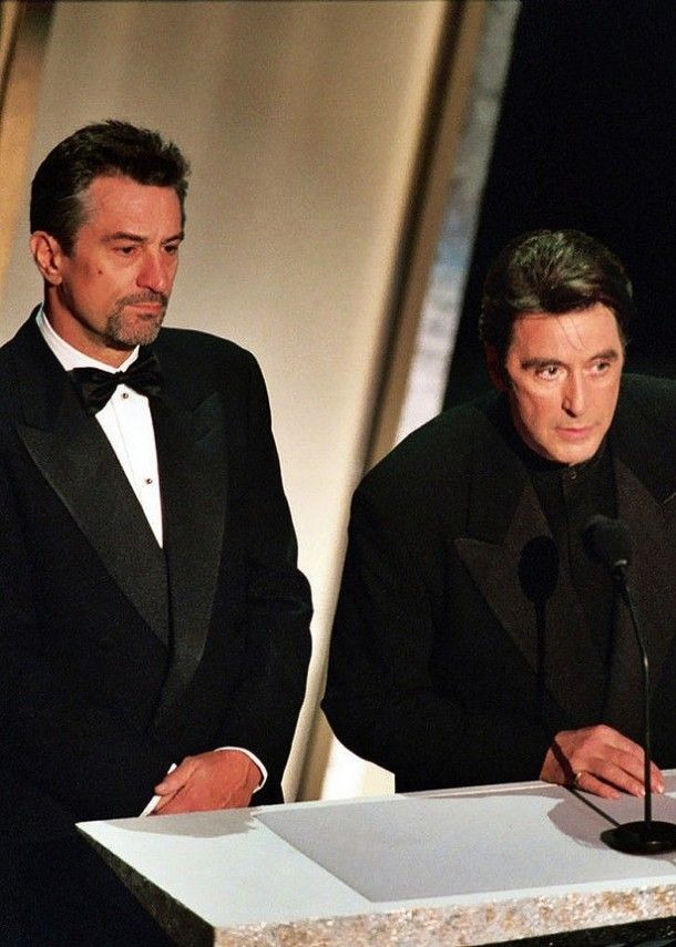 Robert De Niro And Al Pacino At The 67th Annual Academy Awards