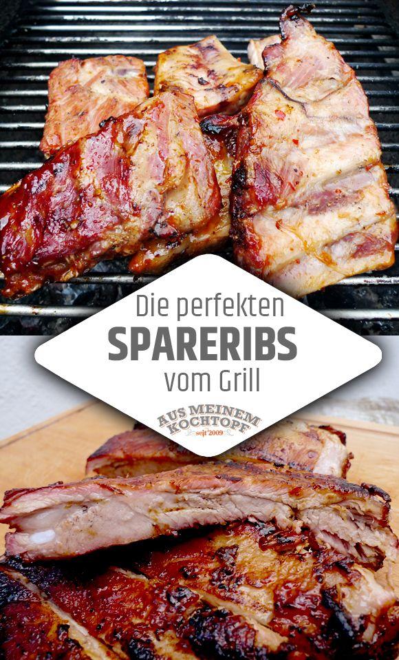 Die perfekten Spareribs - Makellose Barbecue Rippchen #grilledporksteaks