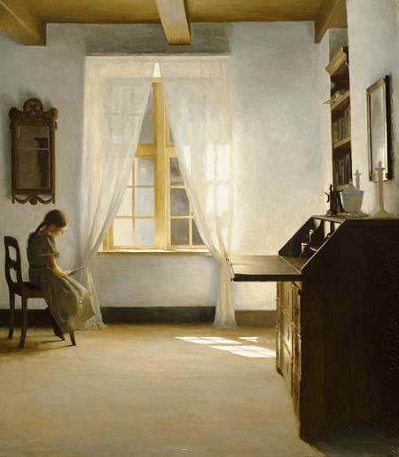 Peter Ilsted PAINTERLY Pinterest Peinture interieur, Intérieur - peinture porte et fenetre