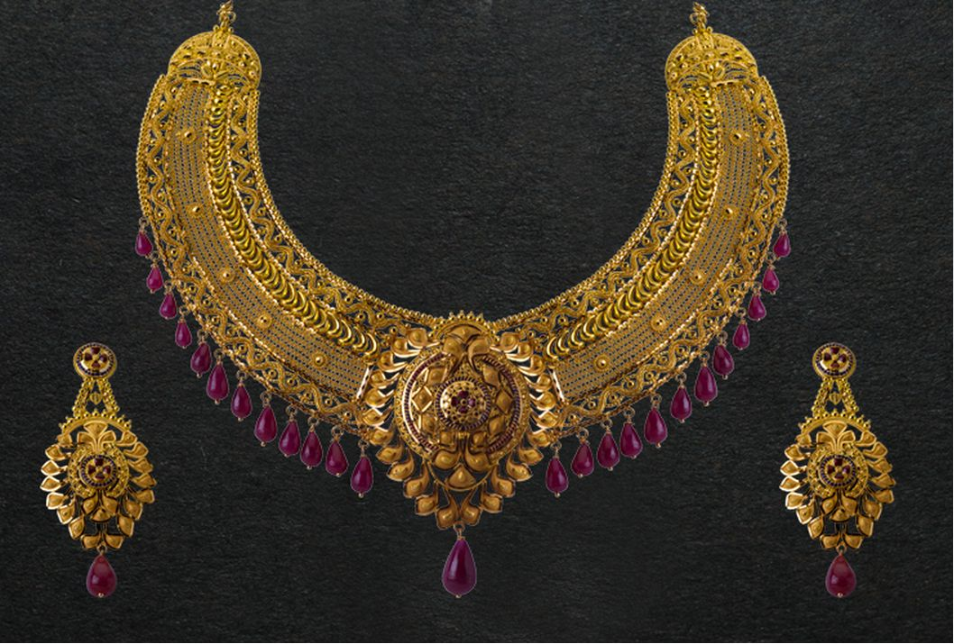 Pc Chandra Jewellers Gold Necklace Designs Jewelry Gold Jewelry Indian