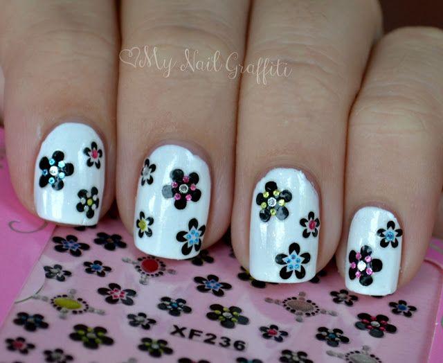Born Pretty Store Nail Decals | Nail Art | Pinterest | Nail decals ...